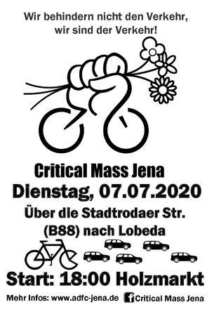 Critical Mass Jena 2020