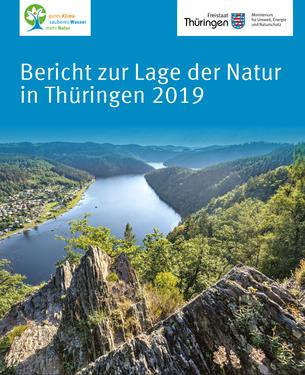 Deckblatt Bericht zur Lage der Natur in Thüringen 2019