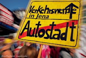 Demo-Plakat Verkehrswende Jena