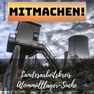 Sharepic Arbeitskreis Atommülllager-Standortsuche