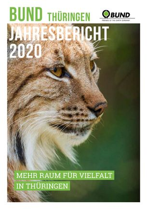 Titelbild Jahresbericht BUND Thüringen 2020